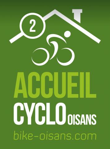 Label Cyclo 2 Vélos – Hôtel Castillan – La Grave