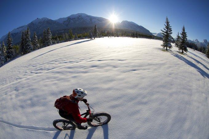 VTT sur la neige !