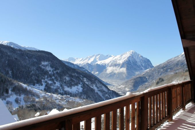 Chalet La Fedora en hiver