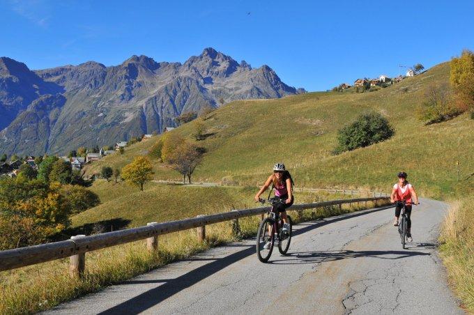 La montée de l'Alpe d'Huez, la discrète