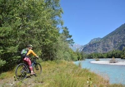 La boucle de la plaine du Bourg en vélo électrique