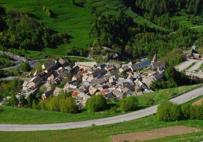 Les hameaux de La Grave en vélo électrique