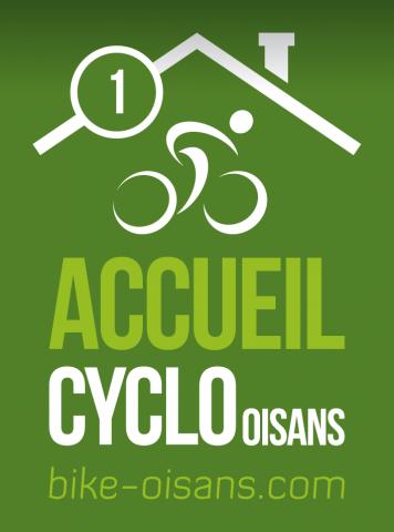 Logo 1 vélo – Accueil Cyclo Oisans