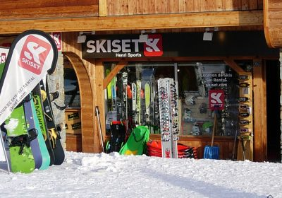Henri Sports I – Skiset (Rond Point des Pistes)