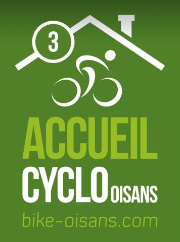 Label Accueil Cyclo Oisans – 3 vélos