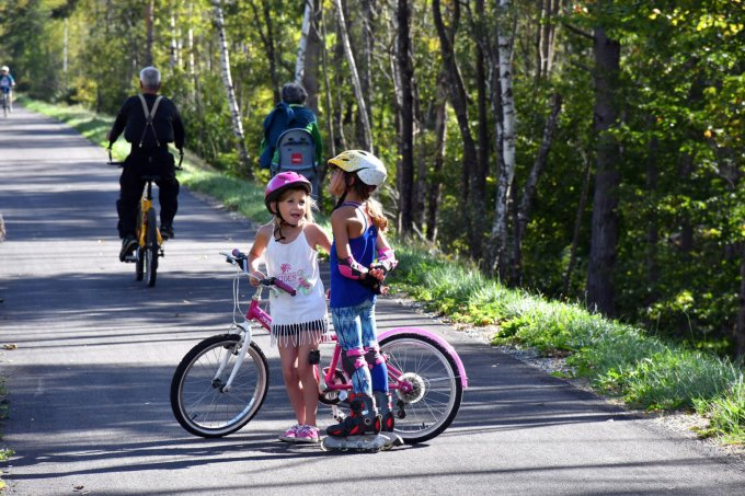 La voie verte en Oisans