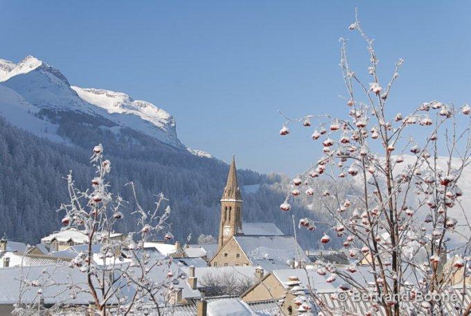 Le village où se situe le gîte (Villar d'Arène)