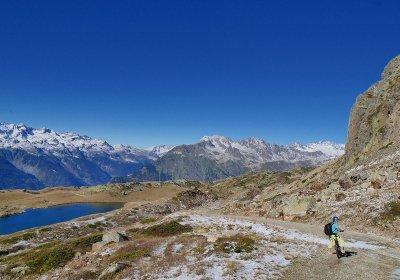 Le tour des lacs en VAE au départ de l'Alpe d'Huez