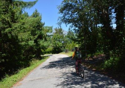 La balade de la Cascade de la Pisse en vélo électrique