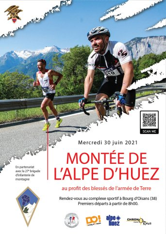 Montée de l'Alpe d'Huez du 93ème RAM